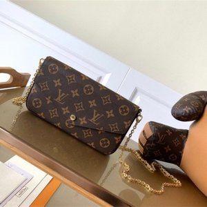 🎁 Louis Vuitton🎁 Pochette Felicie & Designer Shoulder Bag